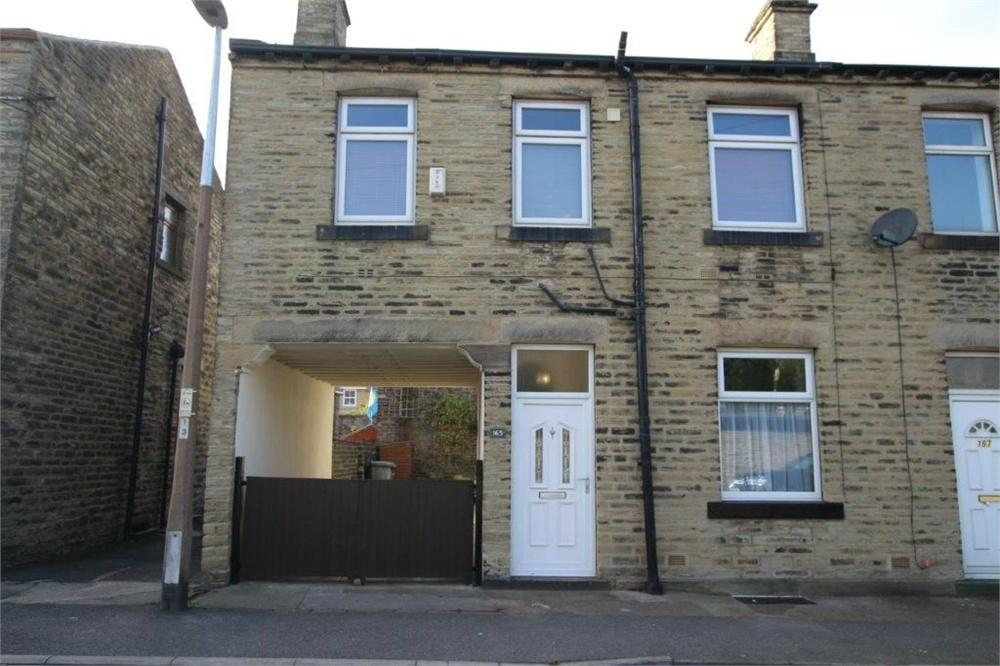 2 Bedrooms End Of Terrace House for sale in South Parade, CLECKHEATON, West Yorkshire
