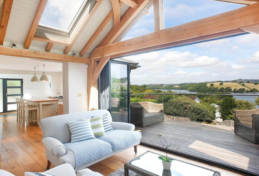 4 Bedrooms Detached House for sale in Higher Street, Dittisham, Dartmouth, TQ6