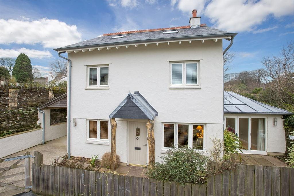 4 Bedrooms Detached House for sale in Church Road, Stoke Fleming, Dartmouth, TQ6