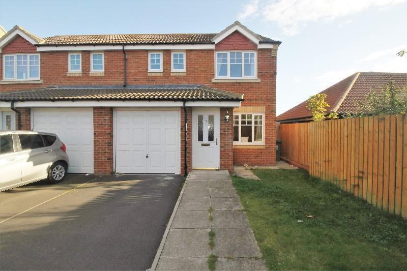3 Bedrooms Semi Detached House for sale in Sedgewick Close, Hartlepool