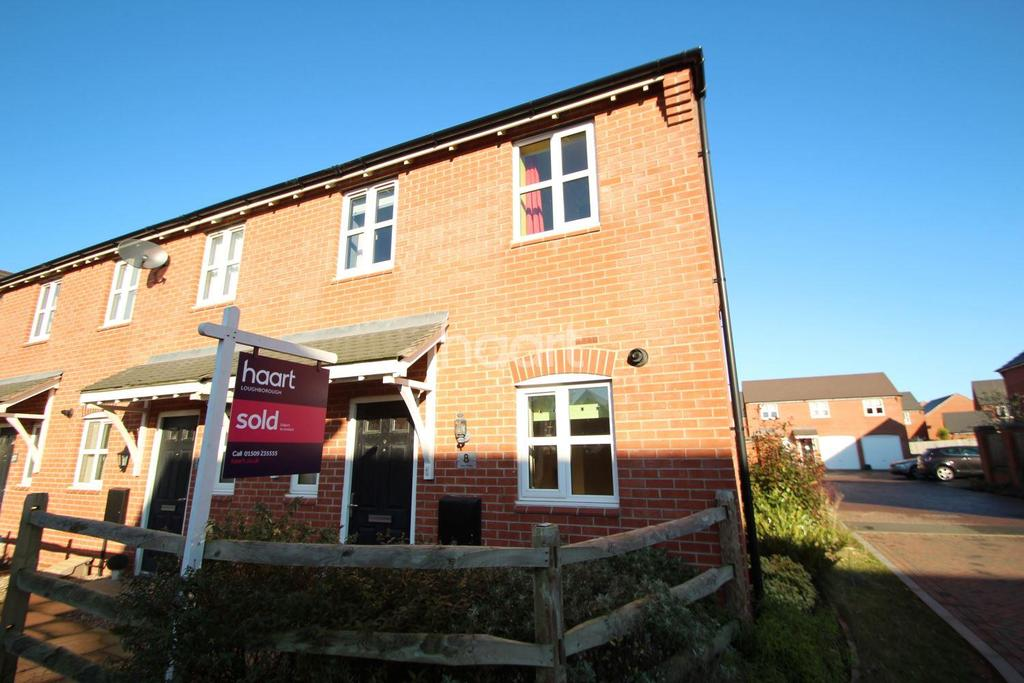 2 Bedrooms End Of Terrace House for sale in Otter Close, Ibstock