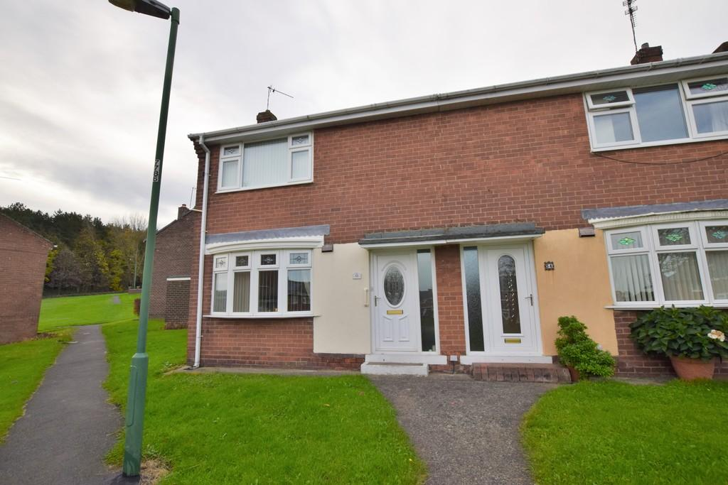 2 Bedrooms Semi Detached House for sale in Southfields, South Stanley, Co. Durham