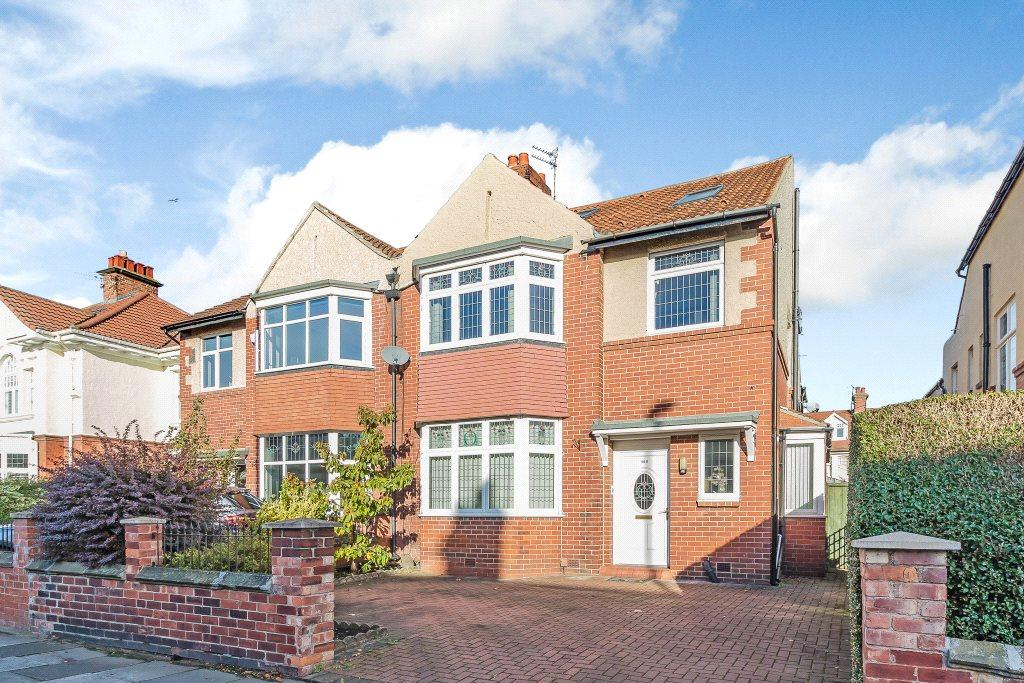 5 Bedrooms Semi Detached House for sale in Osborne Road, Jesmond, Newcastle Upon Tyne, Tyne And Wear
