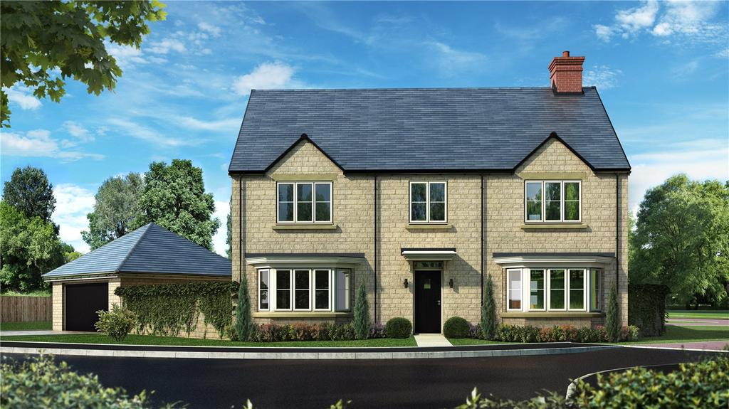 5 Bedrooms Detached House for sale in Haddenham, Oakwood Gate, New Road, Bampton, Oxfordshire, OX18