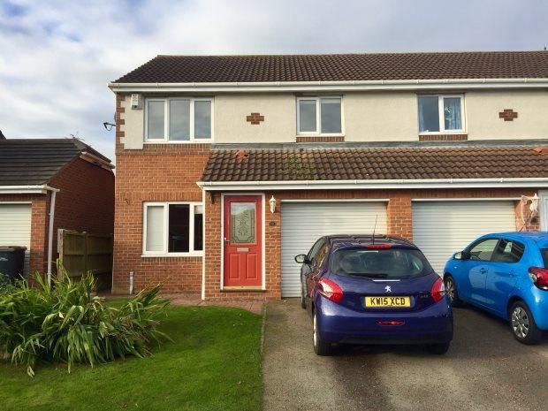 3 Bedrooms Semi Detached House for sale in ST MARYS DRIVE, WEST RAINTON, OTHER AREAS