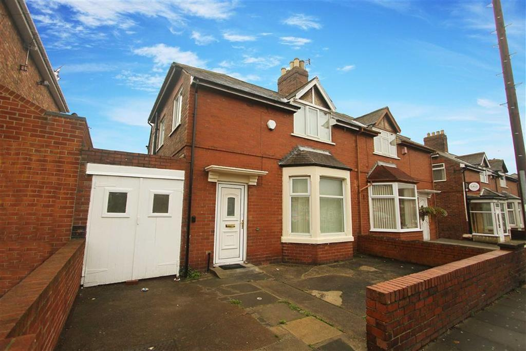 3 Bedrooms Semi Detached House for sale in Burdon Street, North Shields, Tyne And Wear
