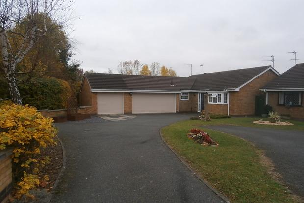 3 Bedrooms Detached Bungalow for sale in Stamford Drive, Groby, Leicester, LE6