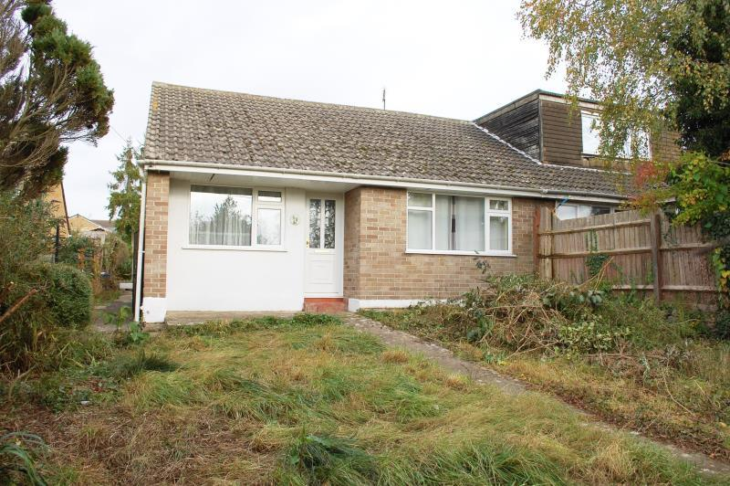 2 Bedrooms Semi Detached Bungalow for sale in Shilton Road, Carterton, Oxon