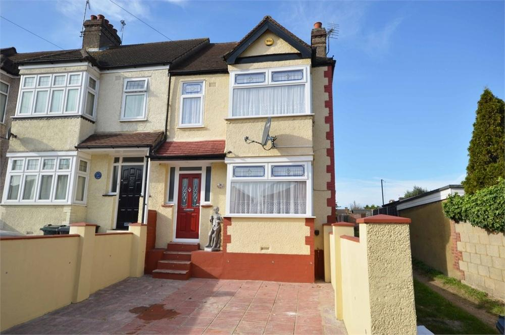 3 Bedrooms End Of Terrace House for sale in Dudsbury Road, West Dartford