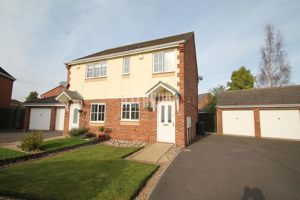2 Bedrooms Semi Detached House for sale in Meadowgate, Brampton Bierlow