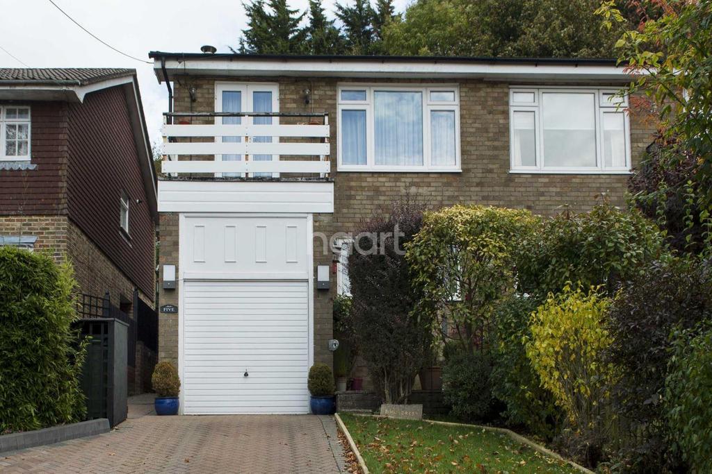 3 Bedrooms Semi Detached House for sale in Hillcrest Road, Biggin Hill