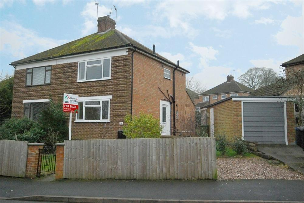 3 Bedrooms Semi Detached House for sale in Glebe Crescent, Rugby, Warwickshire