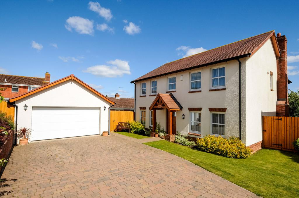 4 Bedrooms Detached House for sale in Great Park Close, Bishopsteignton, TQ14 9 FD