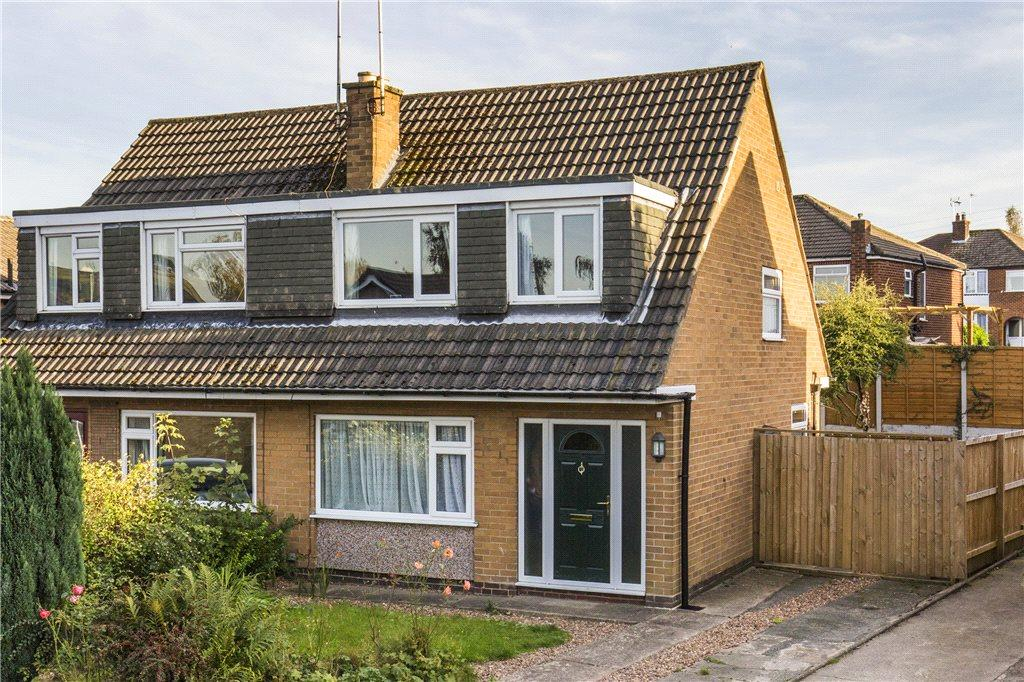 3 Bedrooms Semi Detached House for sale in Fieldhead Drive, Guiseley, Leeds, West Yorkshire