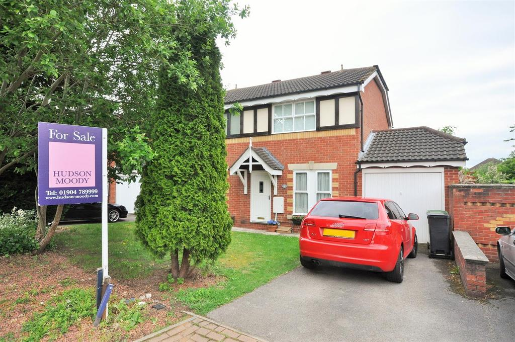 3 Bedrooms Semi Detached House for sale in Millfield Gardens, Nether Poppleton, York