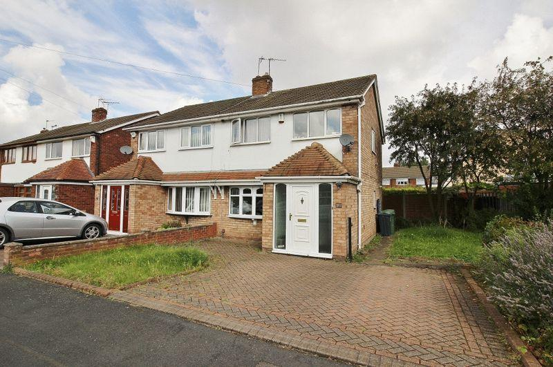 3 Bedrooms Semi Detached House for sale in Rachael Gardens, Wednesbury