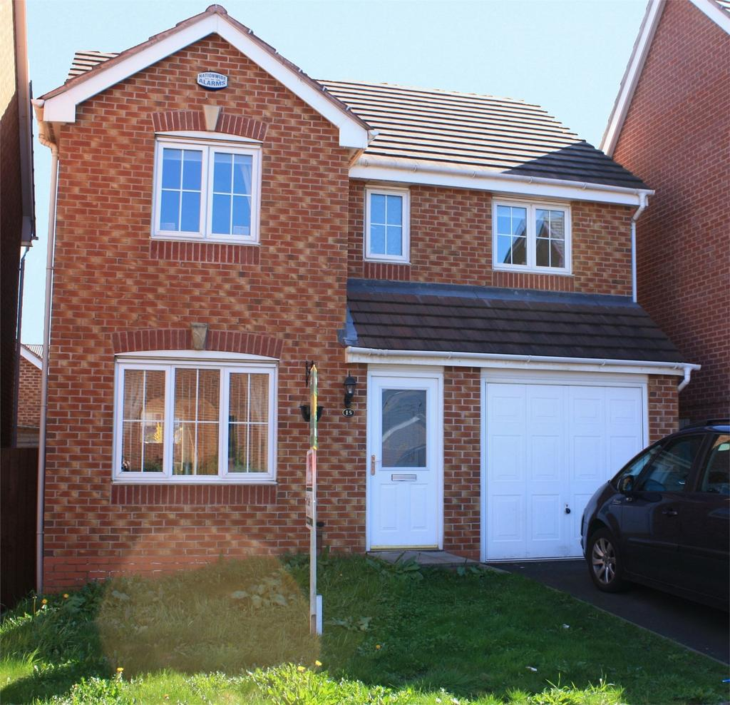 4 Bedrooms Detached House for sale in 15 Wycherley Way, CRADLEY HEATH, West Midlands