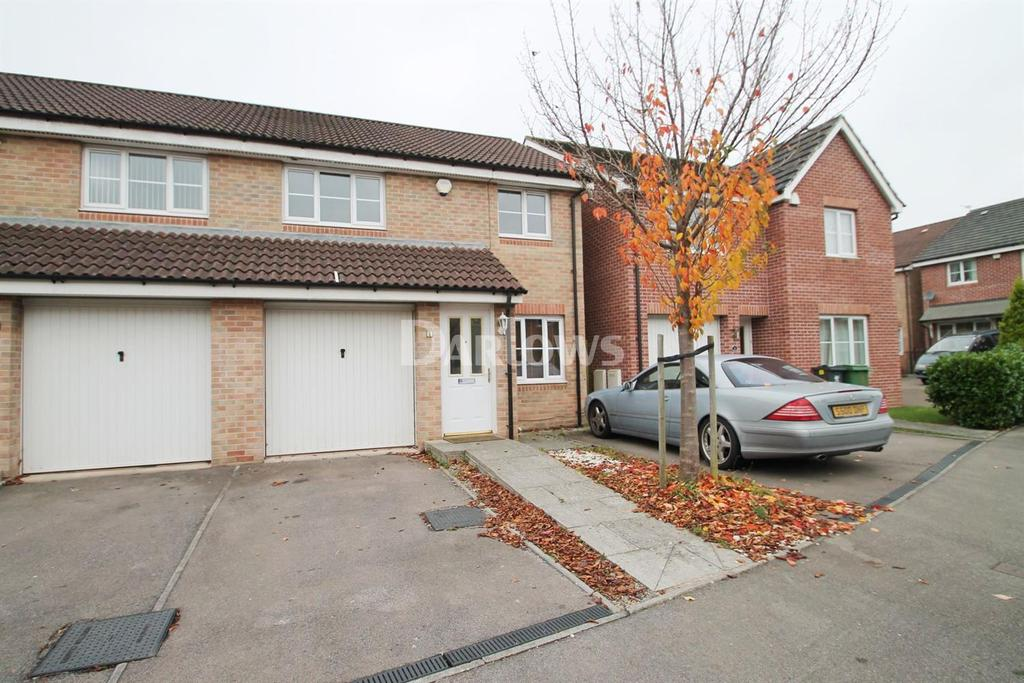 3 Bedrooms Semi Detached House for sale in James Court, St Mellons, Cardiff