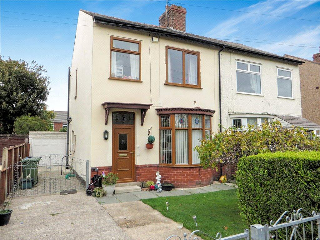 3 Bedrooms Semi Detached House for sale in Haworth Crescent, Poulton-Le-Fylde, Lancashire