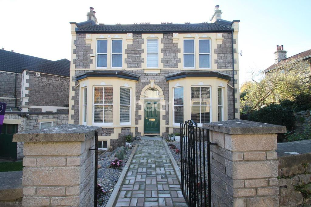 4 Bedrooms Detached House for sale in Hill Road, Weston-super-Mare