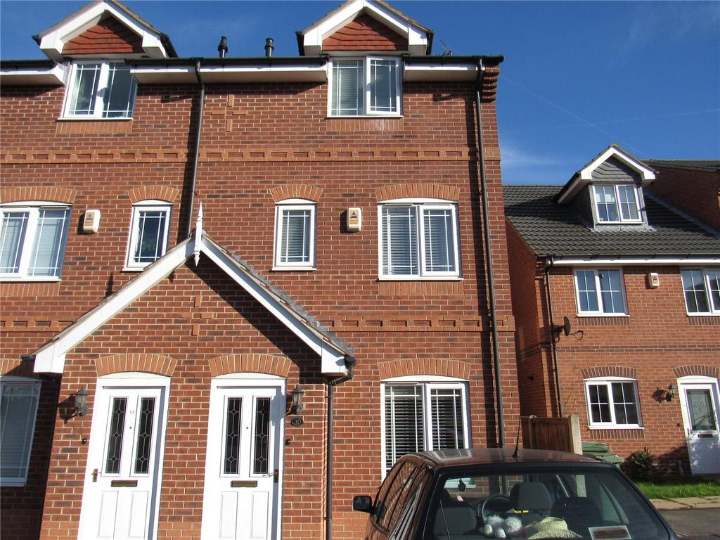 3 Bedrooms End Of Terrace House for sale in Forest Avenue, Mansfield, Nottinghamshire, NG18