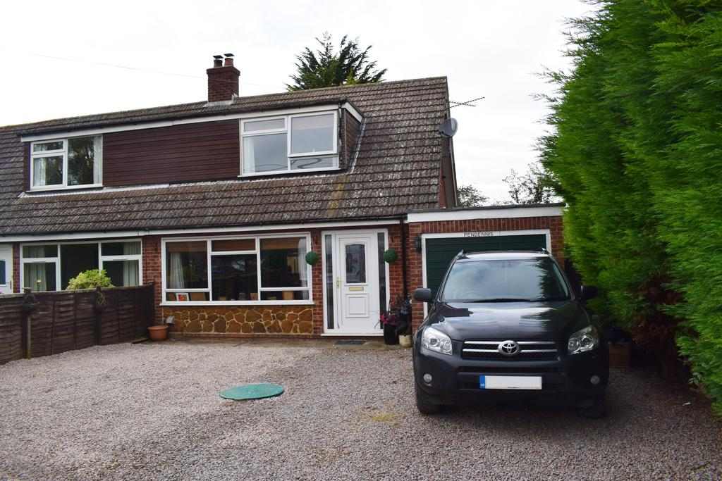 2 Bedrooms Semi Detached House for sale in Lutton Gowts, Lutton, Spalding, Lincolnshire. PE12