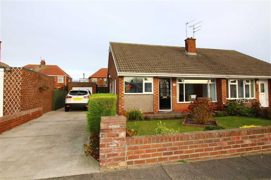 2 Bedrooms Semi Detached Bungalow for sale in Fairfield Drive, Cullercoats