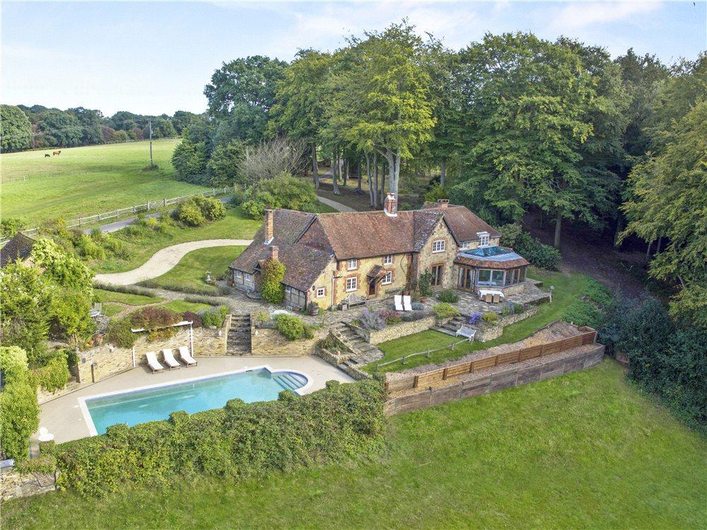 5 Bedrooms Detached House for sale in Shere, Guildford, Surrey, GU5