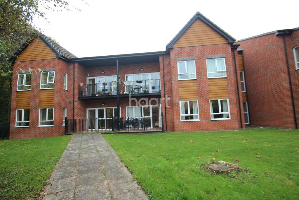 2 Bedrooms Flat for sale in Hilton Grange, West Bridgford, Nottinghamshire
