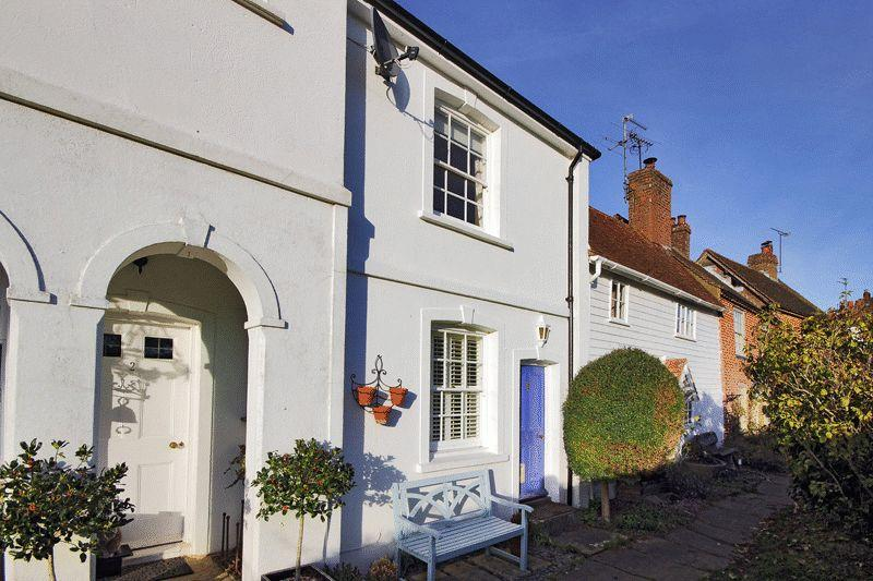 2 Bedrooms Terraced House for sale in Church Terrace, Station Road, Cowfold