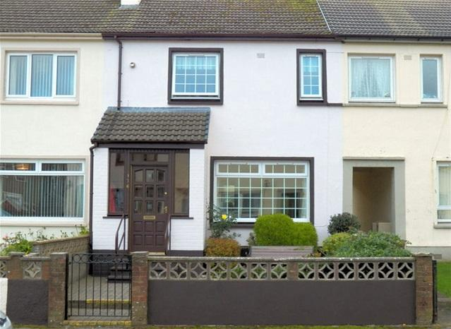2 Bedrooms Terraced House for sale in 136 Davaar Avenue, Campbeltown, PA28 6NH