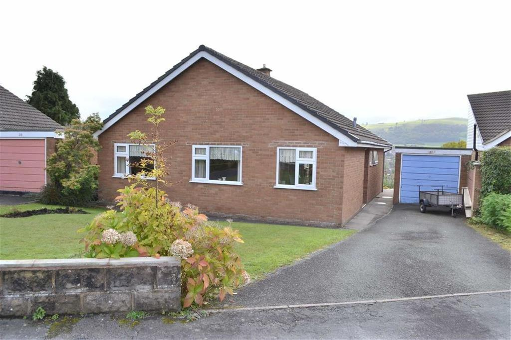 3 Bedrooms Detached Bungalow for sale in 34, Bryn Meadows, Newtown, Powys, SY16