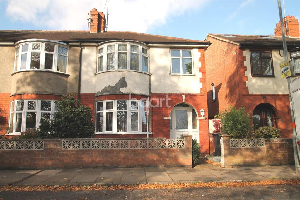 3 Bedrooms Semi Detached House for sale in Delapre Crescent Road, Northampton
