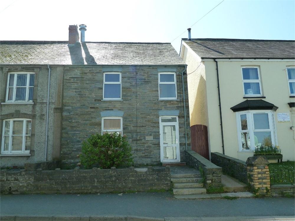 3 Bedrooms Semi Detached House for sale in BRITANNIA HOUSE, HIGH STREET, CILGERRAN, CARDIGAN, Pembrokeshire