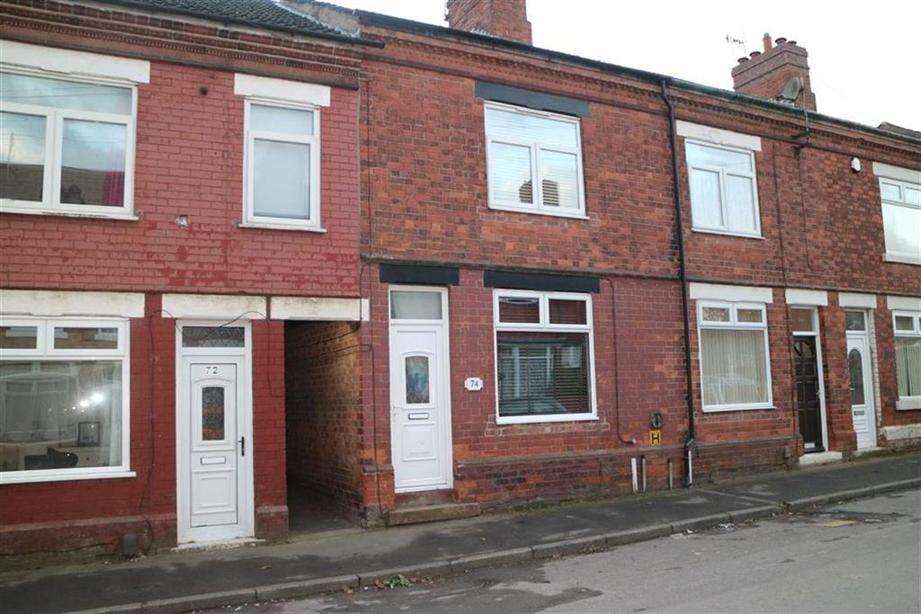 2 Bedrooms Terraced House for sale in Barker Street, Huthwaite, Notts, NG17