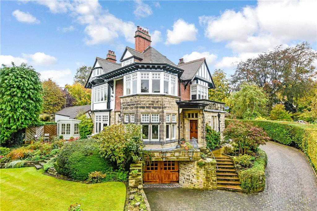 6 Bedrooms Detached House for sale in Brunswick Drive, Harrogate, North Yorkshire, HG1