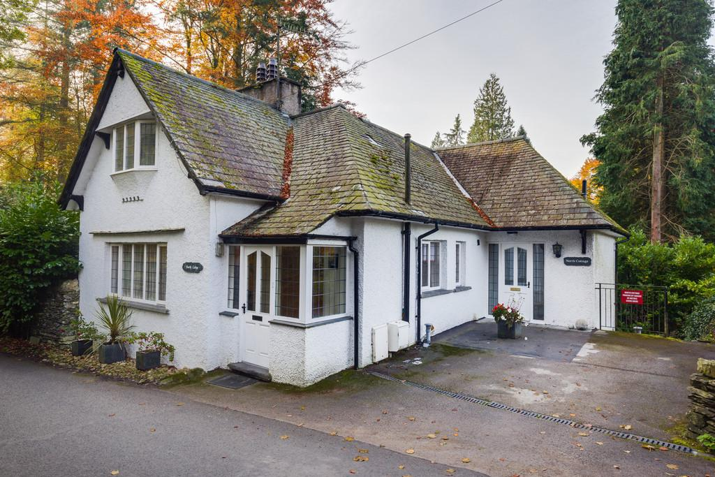 4 Bedrooms Detached House for sale in North Lodge and North Cottage, Longtail Hill, Bowness On Windermere, Cumbria, LA23 3JD