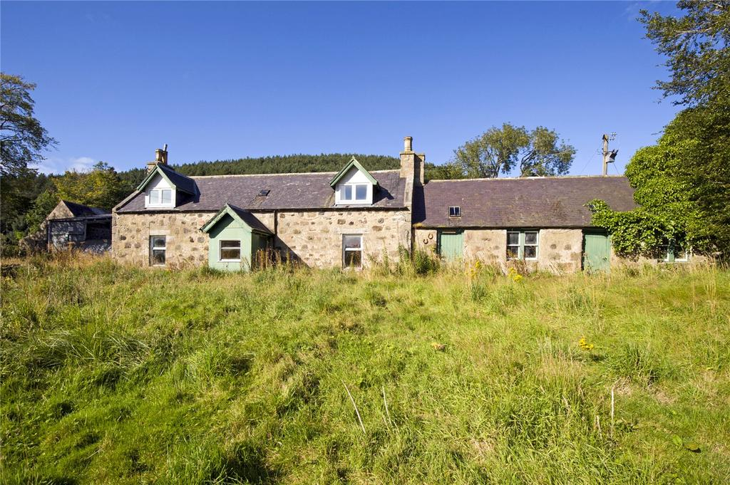 3 Bedrooms Detached House for sale in Sunnybrae Farmhouse, Glenbuchat, Strathdon, Aberdeenshire