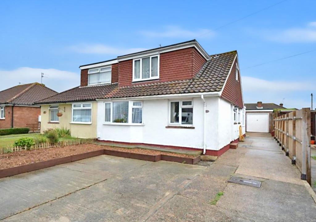 4 Bedrooms Semi Detached Bungalow for sale in Crown Road, Shoreham-by-Sea, BN43 6GD