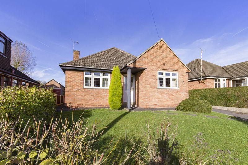 3 Bedrooms Detached Bungalow for sale in HADDON DRIVE, ALLESTREE
