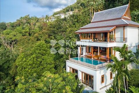 4 bedroom villa  - A Luxury Private Estate High Above Surin beach