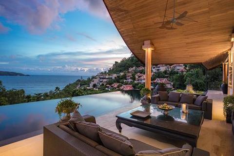 4 bedroom villa  - Patong bay with stunning view