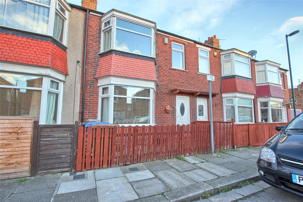 3 Bedrooms Terraced House for sale in Grove Road, Redcar