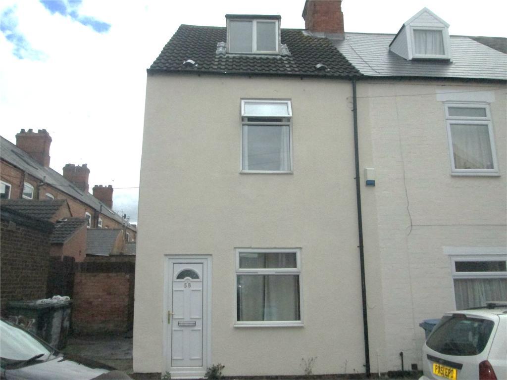 3 Bedrooms End Of Terrace House for sale in Portland Street, Worksop, Nottinghamshire, S80