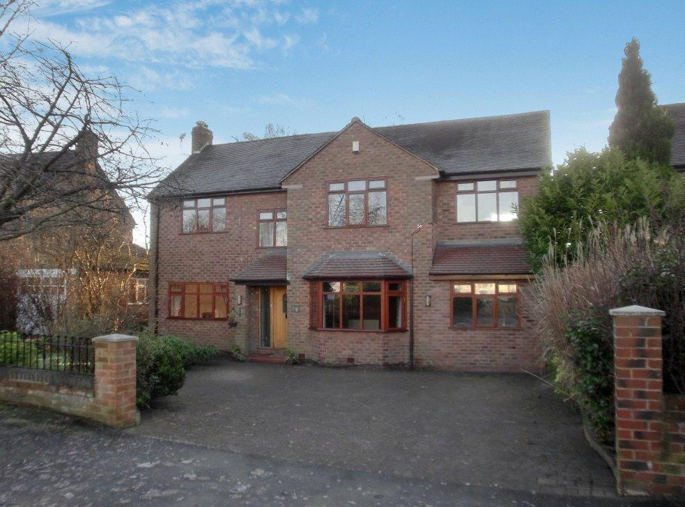 4 Bedrooms Detached House for sale in High Elm Road, Hale Barns, Cheshire, WA15
