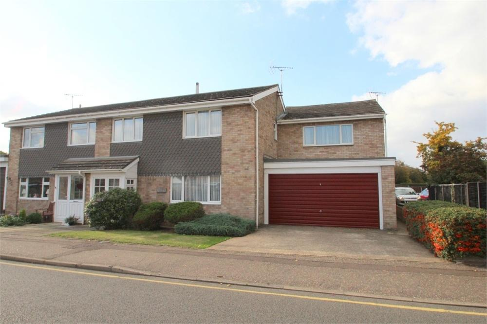 4 Bedrooms Semi Detached House for sale in Guildford Road, COLCHESTER, Essex