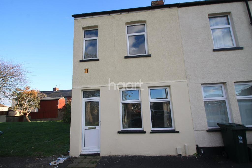 2 Bedrooms End Of Terrace House for sale in Magor Street, Newport