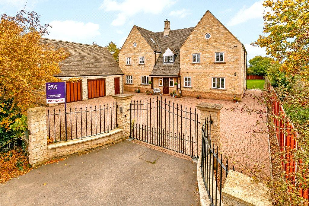 5 Bedrooms Detached House for sale in Hemington Road, Polebrook, Peterborough, Northamptonshire, PE8