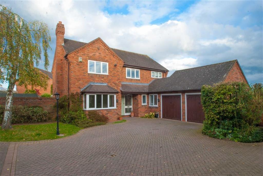 4 Bedrooms Detached House for sale in Hawcroft, Longdon, Staffordshire