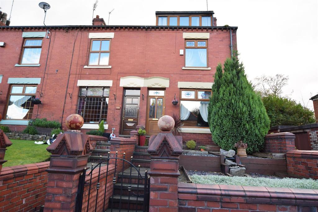 2 Bedrooms End Of Terrace House for sale in Manchester Old Road, Rhodes, Middleton